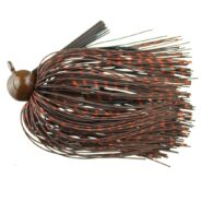 Football Jig Brown-Orange Reptile